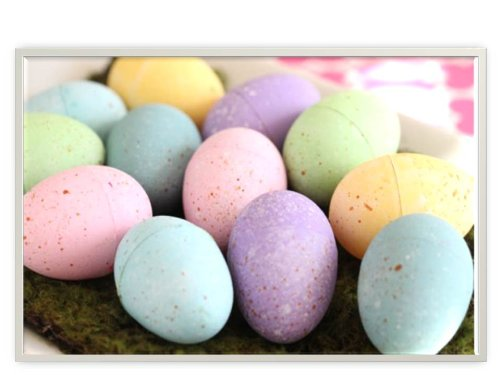 Easter Egg Shaped Sidewalk Chalk, 6 piece (Pack of 2)