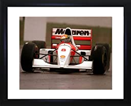 Ayrton Senna Framed Photo