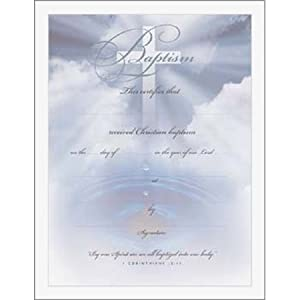 baptism class certificate template - search results for water baptism certificate template