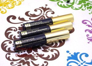 Set of Three Tubes: Estee Lauder Sumptuous Bold Volume Mascara 01 Black ( Each Is Trave Size 0.1 Oz/2.8 Ml)