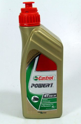 15W50 POWER1 4T 4,0 L HC-SYNTHESE - 714.06.92 - Castrol 15W50 Castrol Power 1 4T 4-Takt-Motorenöl mit HC-Synthese-