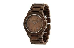 Orologio in legno wewood beta chocolate orologi for Orologio legno amazon