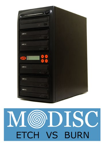 Systor 1-5 24X SATA M-Disc CD DVD Burner Replication Recorder Multiple Duplicator