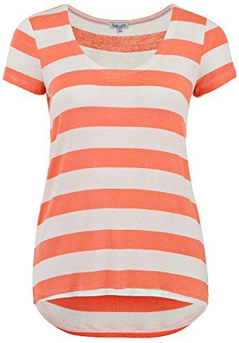 splendid-damen-striped-drapey-lux-shirt-papaya-grosse-xs