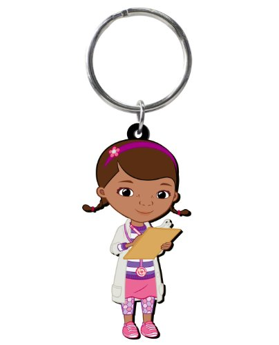 Disney Doc McStuffins Soft Touch PVC Key Ring - 1