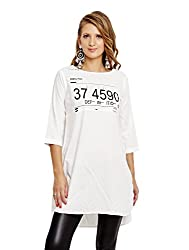 Jalebe Women's Tunic Dress_INDTJBL004_White_L