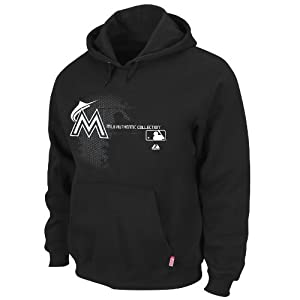 MLB Mens Miami Marlins AC Change Up Sweatshirt by Majestic