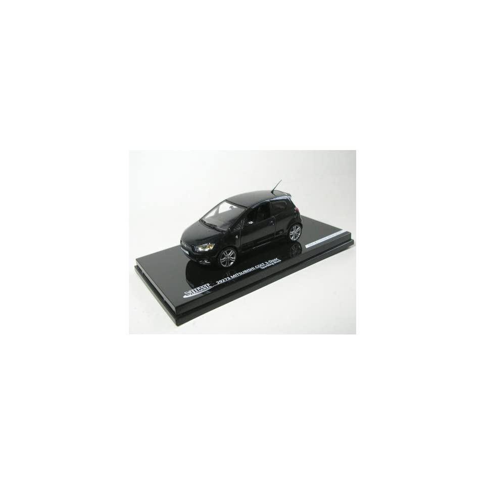 Mitsubishi Colt in Black (143 scale) Diecast Model Car by Vitesse