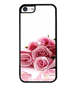 iFasho Red Rose bunch Back Case Cover for Apple iPhone 5C