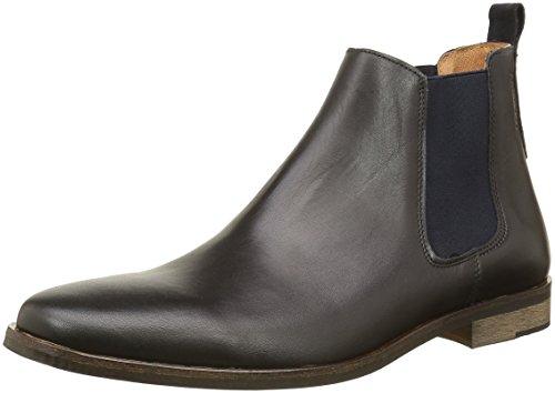 SchmooveDirtydandy Crust - Stivali Chealsea al ginocchio Uomo , nero (Noir (Black 15)), 45 EU