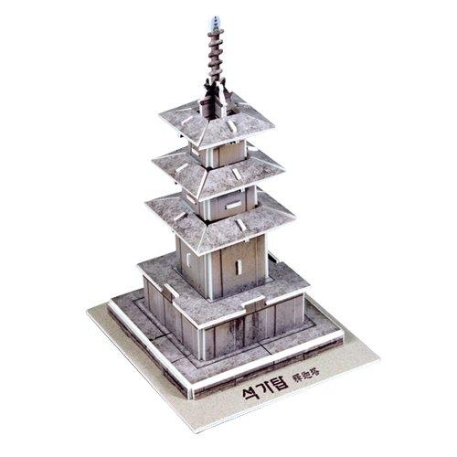 Jigsaw 3D Puzzle Korea Culture Series - Seokgatap (Small) - 1