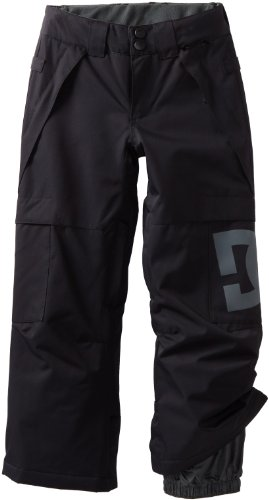 DC Boy's Banshee K 13 Pant, Black, X-Large