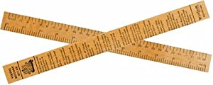 Viking Timeline Wooden Ruler - 12