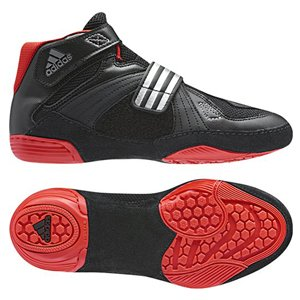 adidas Extero II Kids Boots - Black/Red, Size 2