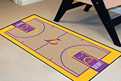 Los Angeles Lakers 24x44 Nba Court Runner NBA 24x44 Court Runner Carpet/Mat/Rug
