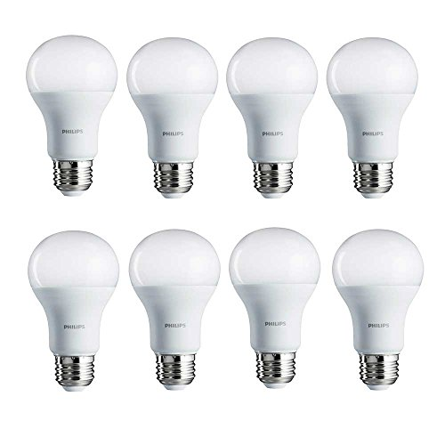philips led bulbs 462002 100w equivalent daylight a19 led. Black Bedroom Furniture Sets. Home Design Ideas