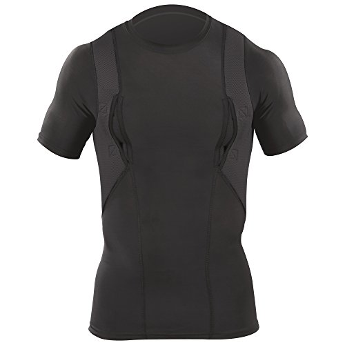 5.11 Tactical S/S Holster Shirt, Black, Large
