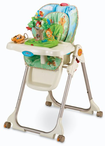 How to get Fisher-Price Rainforest Healthy Care High Chair Guides