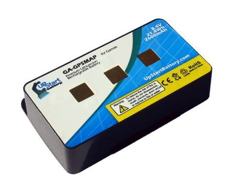 010-10517-01 Replacement Battery for Garmin GPSmap 276, 276c, 296, 376, 376c, 378, 396, 478, 495, 496 Navigators - UpStart Battery brand with Lifetime Warranty