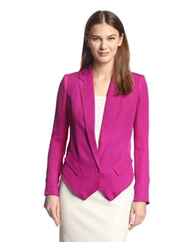 Haute Hippie Women's Blazer with Cowl Back