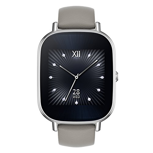 ASUS ZenWatch 2 Android Wear Smartwatch – 1.45″, Silver ...