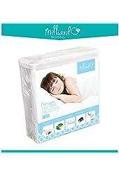 Milliard Premium Terry Hypoallergenic 100-Percent Waterproof Mattress Protector, Twin