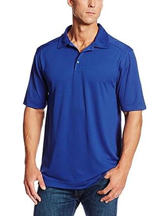 Cutter & Buck Men's Big-Tall Cb Drytec Genre Polo Shirt, Tour Blue, Large/Tall