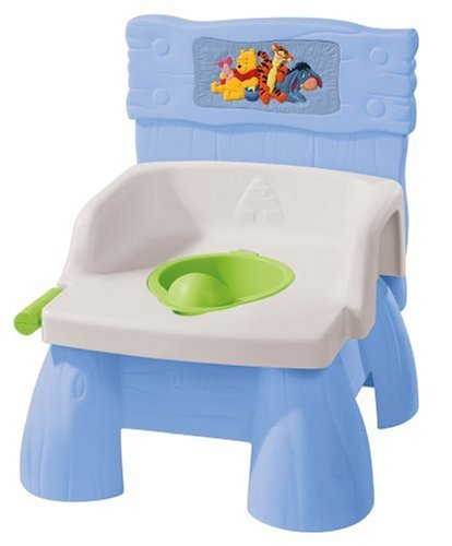 The First Years Disney Pooh Flush 'N Sounds Potty