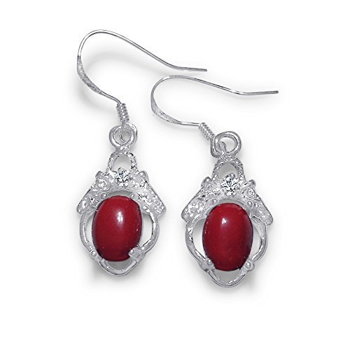 beautiful-creature-fashion-jewelry-designers-fish-hook-earrings-with-red-stone-and-cubic-zirconia-el