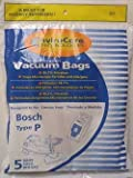 Type P Bosch Replacement Vacuum Cleaner Bag (5 Pack)