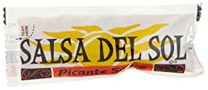 Salsa Del Sol Sauce Picante Sauce, 0.5-Ounce Single Serve Packages (Pack of 200)