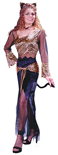 Funworld Womens Jungle Cat Jane Leopard Cheetah Sexy Animals Halloween Costume
