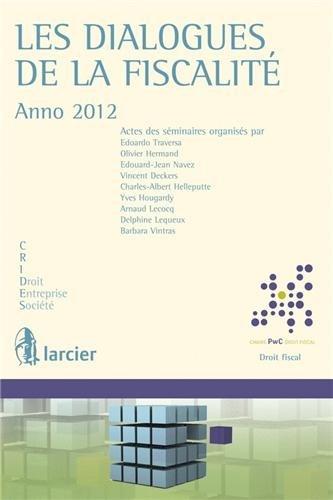 les-dialogues-de-la-fiscalite-annee-2012-chaire-pricewaterhousecoopers-droit-fiscal