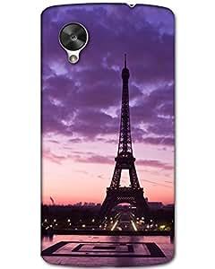 Hugo LG Nexus 5 Back Cover Hard Case Printed