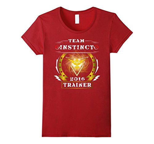 Pokemon Go Team Instinct Trainer 2016 T-shirt