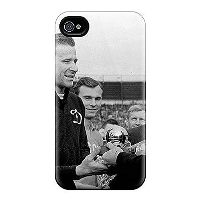 [HuD1141wzGP]premium Phone Case For Iphone 4/4s/ Footballer Gets Lev Yashin Award Tpu Case Cover