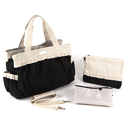 Alice Diaper Bag (Black)