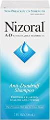 Fight dandruff outbreaks with NIZORAL A-D Anti-Dandruff Shampoo. This powerful shampoo controls flaking, scaling, and itching caused by dandruff. It combines the effectiveness of ketoconazole 1%, a proven dandruff-fighting ingredient, with salon-test...