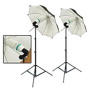 PBL PHOTOGRAPHY STUDIO LIGHTING KIT 600 WATT FLUORESCENT PHOTO DIGITAL VIDEO by PBL