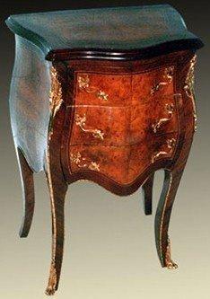 Chapado en oro antiguo cómoda estilo envejecido MoGo0387