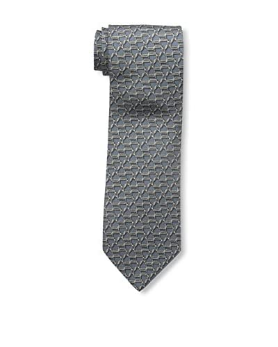 Gucci Men's Patterned Tie, Grey