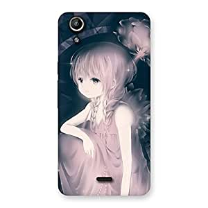 Special Rose Paradise Multicolor Back Case Cover for Micromax Canvas Selfie Lens Q345