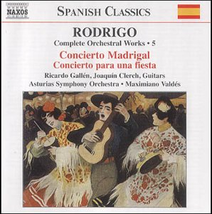 Joaqun Rodrigo Complete Orchestral Works Vol 5 by Naxos