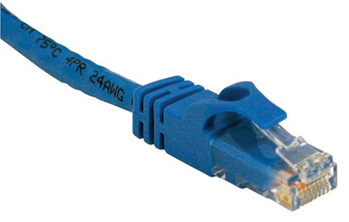 Cables To Go 27145 Cat6 550 MHz Snagless Patch Cable, Blue (25 Feet)