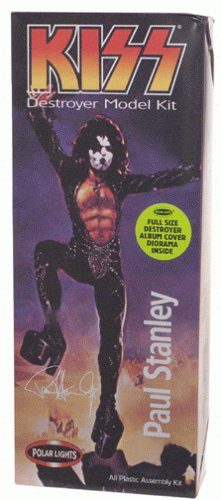 KISS - 1998 - Playing Mantis - Polar Lights - KISS Destroyer Model Kit - Paul Stanley Starchild - All Plastic Assembly Kit - RARE - Full Size Destroyer Album Cover Diorama Inside - New - Limited Edition - Collectible (Ace Model Kits compare prices)