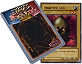 Yu Gi Oh : LOB-E013 Unlimited Edition Monster Egg Common Card - ( Blue-Eyes White Dragon YuGiOh Single Card )