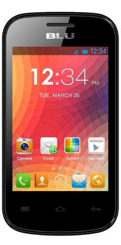 BLU Dash JR D140 Unlocked Dual Sim Phone (Black)