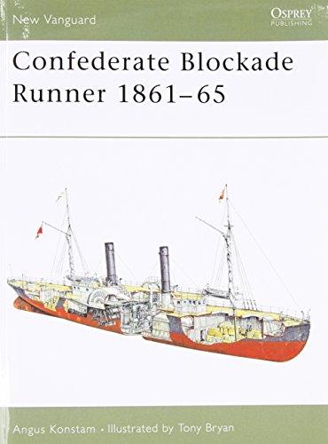 Confederate Blockade Runner 1861-65 (New Vanguard)