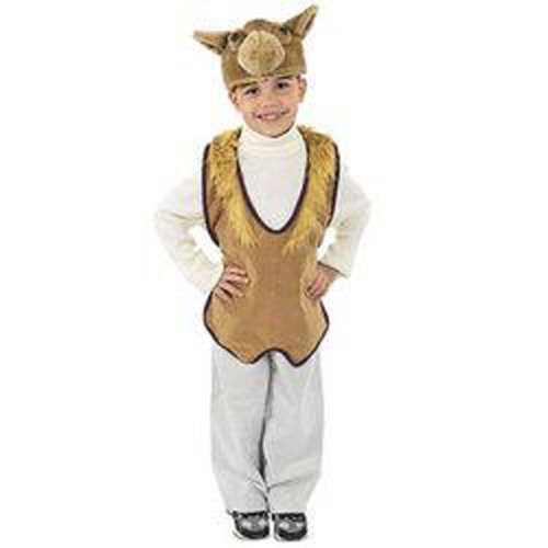 Camel Plush Costume Vest Hat Nativity 4-8 NIP