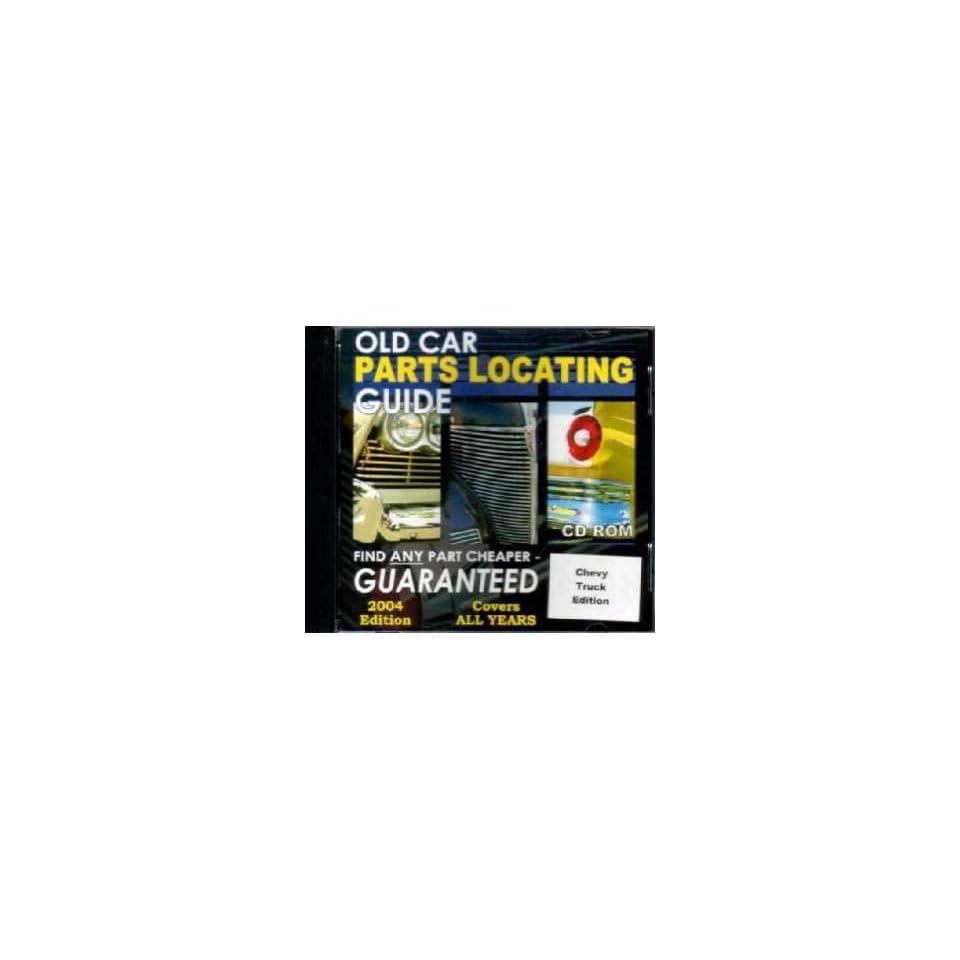 Chevrolet GMC Trucks Parts Locating Guide Catalog CD Suppliers Vendors Services